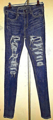 Jeggings Salut 34 American maigre 31 Rise Eagle déchiqueté 6 Jeans 6wv0q4