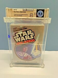 STAR WARS: JEDI ARENA** Atari 2600 ** NEW, SEALED, WATA GRADED 9.4 A++