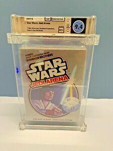 STAR WARS: JEDI ARENA** Atari 2600 ** NEW, SEALED, WATA GRADED 9.4 A++