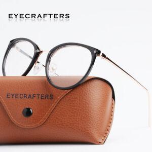 3643b3ace99 Image is loading Retro-Mens-Womens-Clear-Lens-Eyeglass-Frames-Designer-