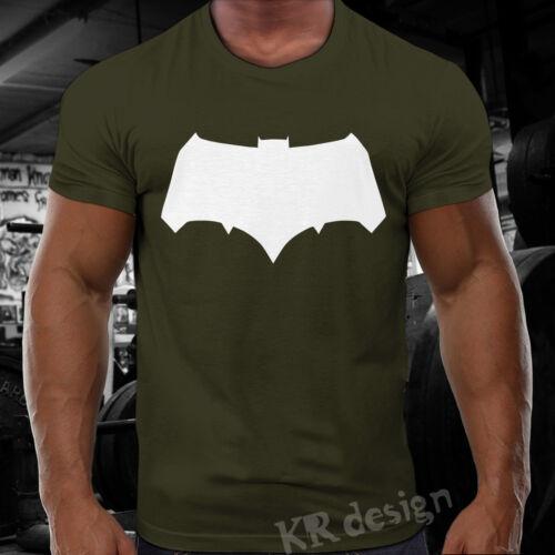 SUPER MAN Batman T-shirt BODYBUILDING Training GYM Sport Workout Fitness WOD 03