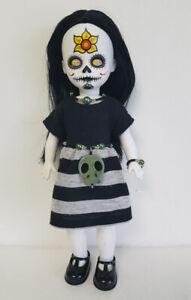 OOAK Living Dead Doll Clothes Dress, Skull Belt & Jewelry Fashion NO DOLL d4e
