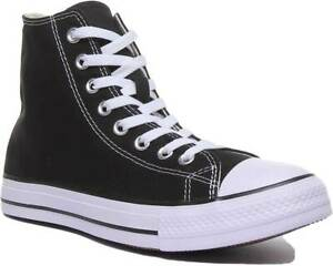 Star Hi Womens Canvas High Top Trainers