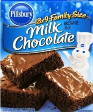 MHD abgelaufen 2x 'Milk Chocolate' Brownie Mix  a 521gr Original aus USA