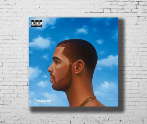 Drake Nothing Was The Same Rap  Music Album Cover 24x24 27x27 Fabric Poster E904