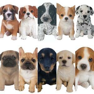 Labrador Golden Puppy Vivid Art Pet Pals Garden Ornament