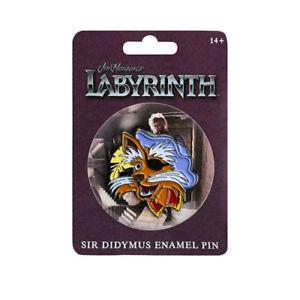 Labyrinth-Sir-Didymus-Small-Enamel-Pin-NEW