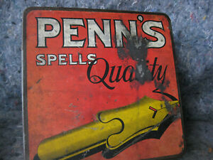 Antique-Tobacco-Tin-034-Penn-039-s-Spells-Quality-034-American-Tobacco-Co
