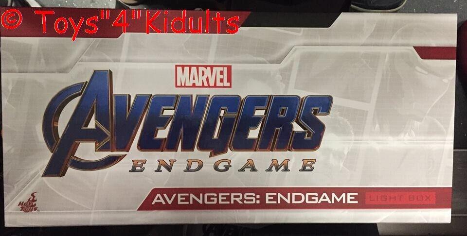 heta leksaker förundras Avengers Endspel ljus låda vit NY