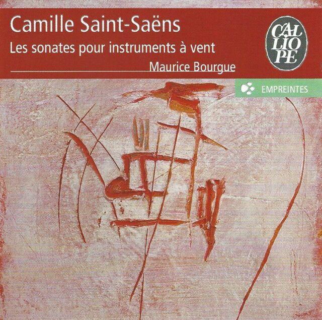 Camille Saint-Saens (1835-1921) • Les sonates pour instruments à vent CD