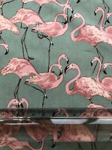 Flamingos-in-Light-Teal-and-Soft-Pink-Cotton-Lawn-Fabric-Lady-McElroy-Fabric
