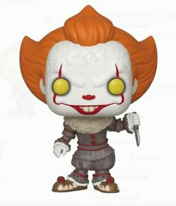 Chapter 2 #782 Pennywise with Blade IT Funko POP Movies