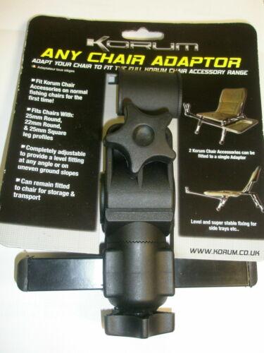 Korum Any Chair Adaptor Attachment Carp Fishing tackle