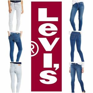 New-Levi-039-s-Women-039-s-710-Super-Skinny-Jeans-Many-Colors-All-Sizes-Free-Shipping