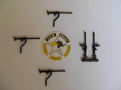 MITRAILLEUSES MG 42 CHAR PANTHER ACCESSOIRES D/'ORIGINE NOIR 5 SOLIDO LOT