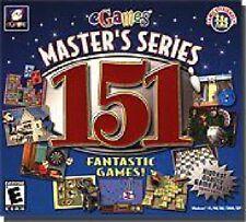 Master's Series: 151 Fantastic Games (PC, 2002) - European Version