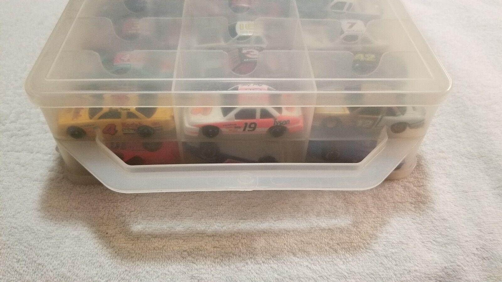 (47) coches coches coches de fundición con funda de transporte Matchbox Racing Champions + más 86c1e8