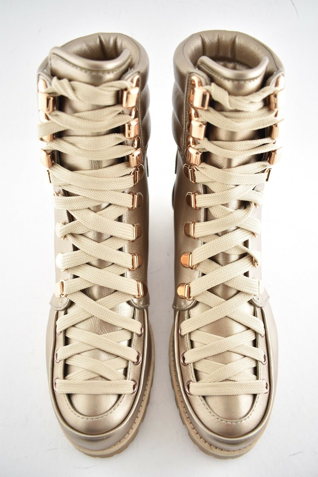 NIB Christian Louboutin Who Who Who Runs Flat Colombe or Combat Hiking Ankle démarrage 38.5 554e67