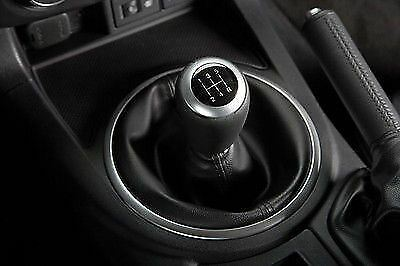 Genuine Mazda MX-5 Leather And Aluminium Gear Knob