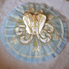 Professional Blue Ivory Gold Imperial Royal Ballet Tutu Raymonda Custom MTO