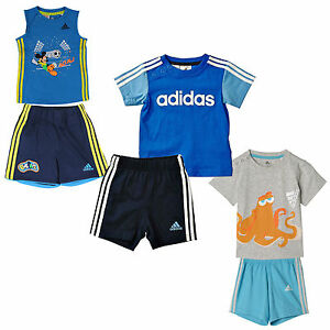 high fashion store classic Details about Adidas Performance Kinder-Sommerset Shorts T-Shirt Two Piece  Sportset Set