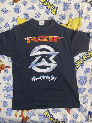 Vintage Ratt Band Tour Shirt Single Stitch Rare Ba