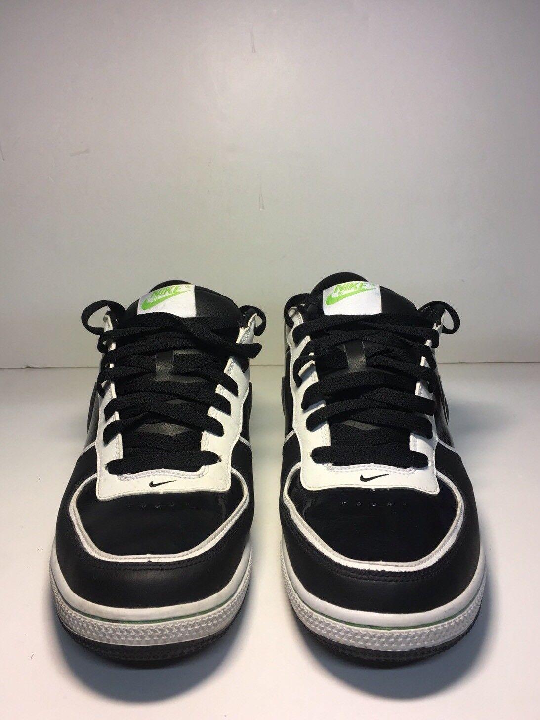Nike Zoom Infiltrator II Black White Green Size 9.5 Men's