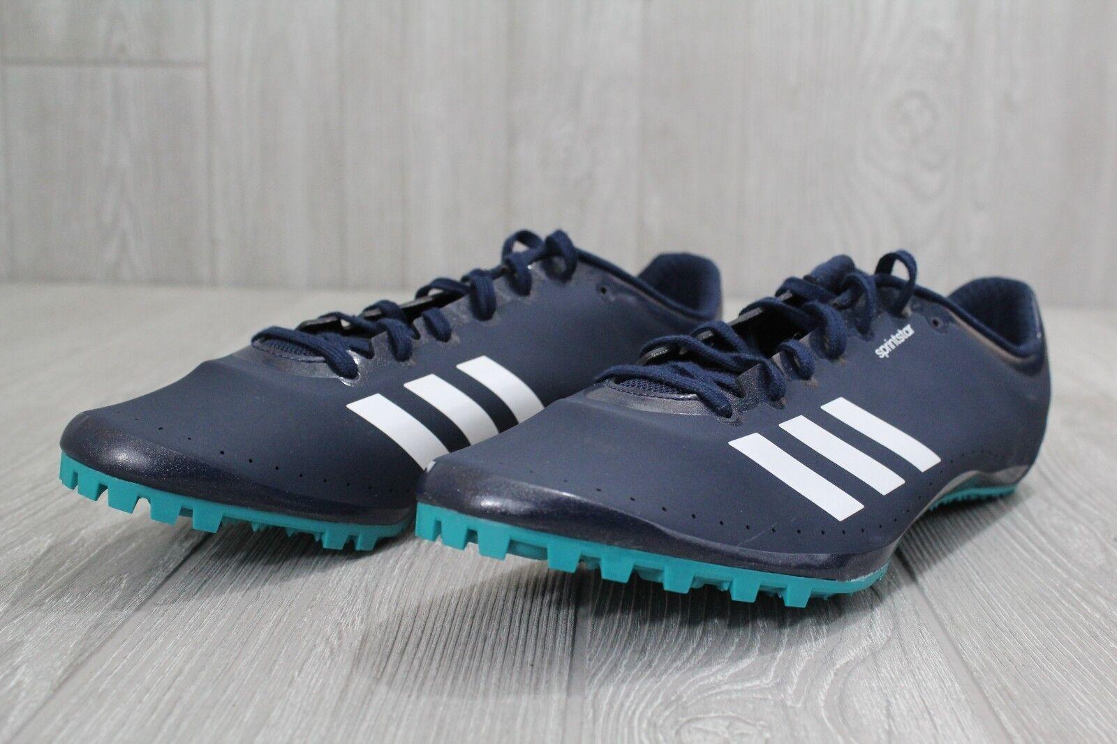 26 nuove adidas Uomo atletica scarpe 11,5 sprintstar blu af5598 navy verde acqua af5598 blu a5ff4e