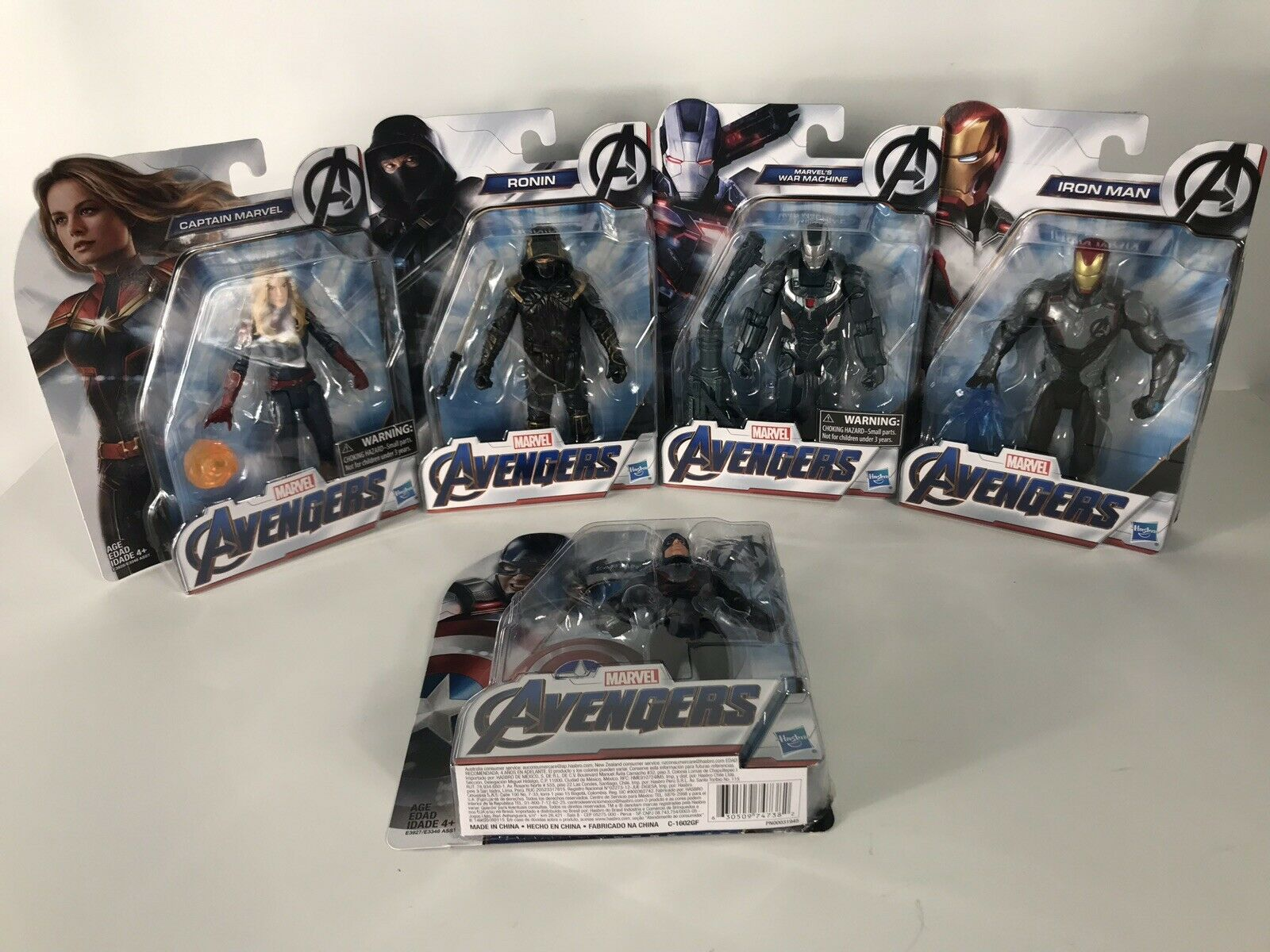 NIB förundras Avengers Endspel Lot of 5 Figures - New leksaker, in Hand - Unöppna