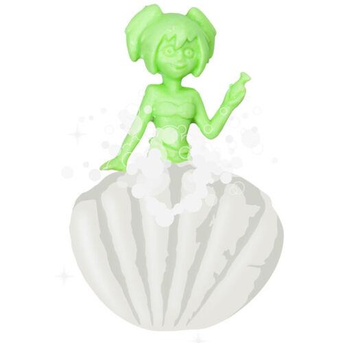 Schlüpfende Meerjungfrau aus Muschel  Bade Spielzeug Wasser Spielzeug Badeente