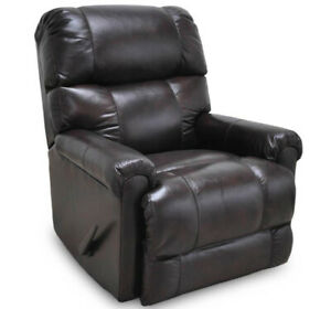 Remarkable Details About Franklin Furniture Captain Leather Rocker Recliner In Java 4533 Java Ncnpc Chair Design For Home Ncnpcorg