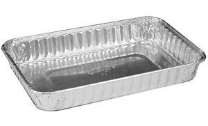 handi foil 9 x 6 oblong aluminum foil danish cake pan 1 1 4 deep hfa 312 ebay. Black Bedroom Furniture Sets. Home Design Ideas