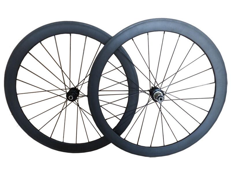 Disc Brake 23mm Width 50mm depth tubular carbon road  bike Cyclocross wheelset