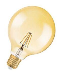 Osram-Parathom-LED-Globe-7W-54W-710-Lumen-15-000h-A-Vintage-1906-oro-2400K