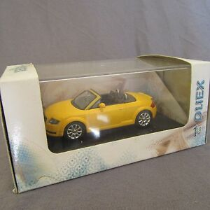 647D-Cararama-Audi-TT-Cabriolet-Jaune-1-43
