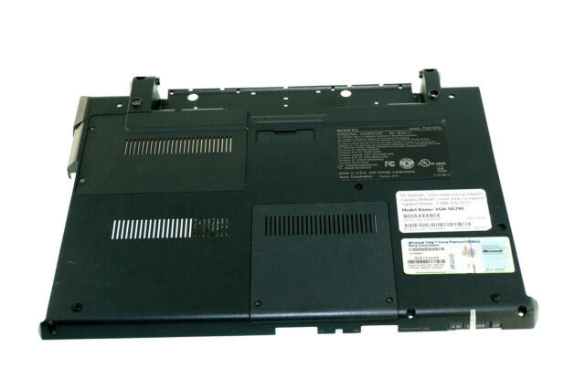 SONY VGN-SR290 WINDOWS 7 X64 DRIVER