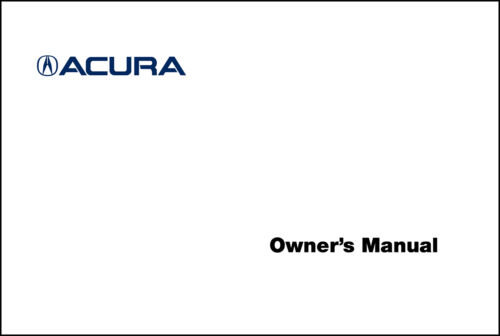 Acura 2016 RDX Warranty Booklet 16