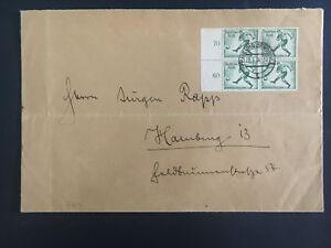 1936-Freiburg-Germany-Oversize-Cover-to-Hamburg-Olympics-Stamps
