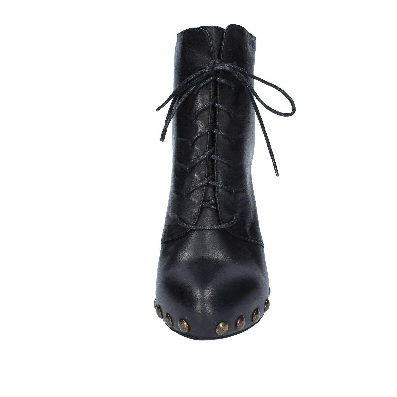 Women's shoes VIC 5 (EU 35) ankle boots black leather leather leather AY141 32c0b2