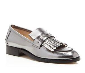 Kiltie Patent Tinn Fringe Kvinner Botkier Victoria Studded Leather Loafers XA4Afv