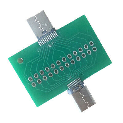 USB 3.1 TYPE C Male to Female Connector Module Adapter Converter Test Board