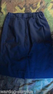 USAF Air Force Service Uniform Women's Dress Blue Skirt Select your Size AF Blue