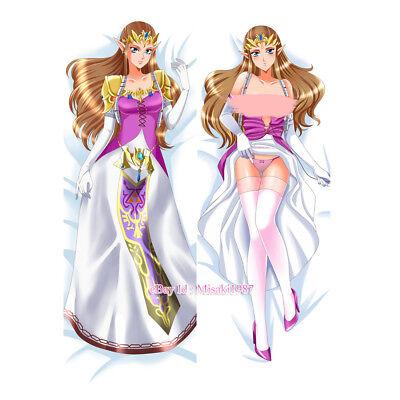 The Legend of Zelda Dakimakura Princess Zelda Anime Girl Body Pillow Case Cover
