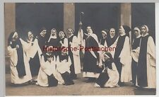 (F5218) Orig. Foto Theaterstück, Frauen historisch religiös, Dresden-N. vor 1945