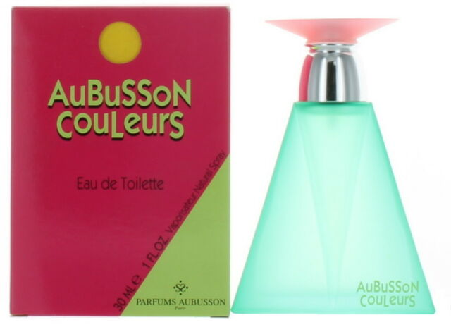 Couleurs by Aubusson for Women EDT Perfume Spray 1 oz. New in Box