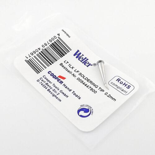 1pcs Replacement For Weller LT1LX LF Solder Iron Tip Soldering Tip 0.2mm
