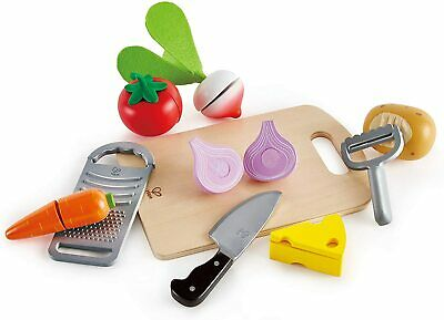 Hape Cooking Essentials Toy Play Food Cutting Vegetables Set For Kids Wooden Sale Online Ebay