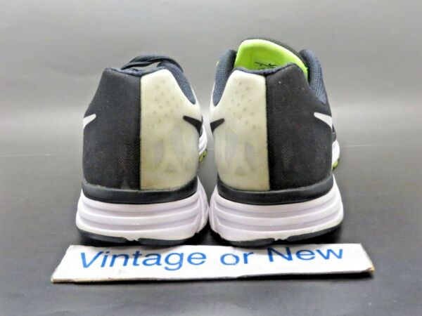 reputable site 3753e 4c43f Hover to zoom · Women s Nike Zoom Vomero 9 Black White Volt Running Shoes  642196-001 ...