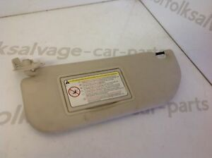 Citroen C4 Sun Visor Passenger Side 0408 - <span itemprop=availableAtOrFrom>Dereham, Norfolk, United Kingdom</span> - Returns accepted Most purchases from business sellers are protected by the Consumer Contract Regulations 2013 which give you the right to cancel the purchase within 14 days after - Dereham, Norfolk, United Kingdom