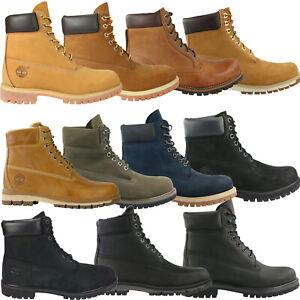 Details zu Timberland 6 Inch Premium Waterproof Boot Schuhe Stiefel Winterstiefel Herren
